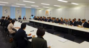 TPP大筋合意と国内対策について北海道農民連盟からヒアリング。