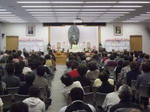 立正佼成会新潟教会で国政報告をさせて頂きました