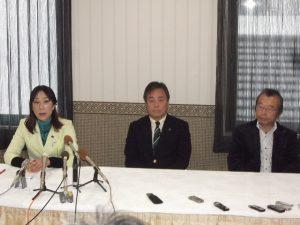 民主党県連、社民党県連、連合新潟の三者協議を行いました。
