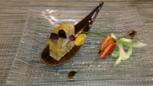 小鶴さんの旦那様のお店、新発田市の「レストラン 4丁目」美しく、おいしいお料理でした。