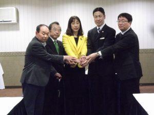 民主党、社民党、維新の党、生活の党、連合新潟による5者協議が行われました。