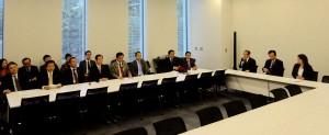 民主・維新合同による初めての文部科学部門会議が開かれました。