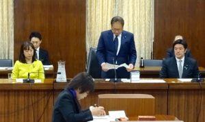 国会に北朝鮮による拉致問題等に関する特別委員会が設置され、野党筆頭理事に就任しました。