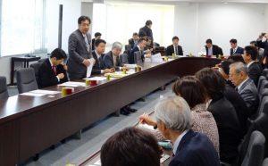 衆議院選挙制度に関する意見交換会。