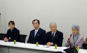 家族会の横田滋さん・早紀江さんご夫妻にもご出席頂きました。