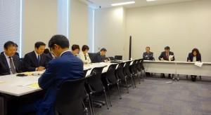 文部科学部門会議。