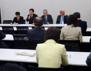 政治改革・国会改革推進本部総会。