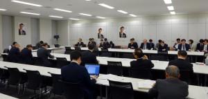 続いて、厚労省・日本医師会からTPPの医療分野についてヒアリングを行いました。