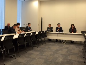 民主・維新文部科学合同部門会議が開催されました。