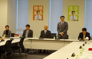 岡田代表挨拶。