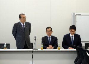 日本国・ブータン王国友好議連役員会が開かれ、鳩山邦夫先生が新会長に就任しました。私は引き続き、幹事長代理を務めます。