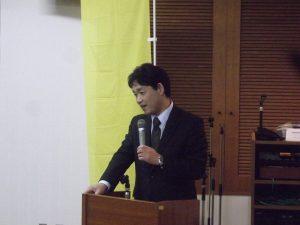 栃尾後援会集会