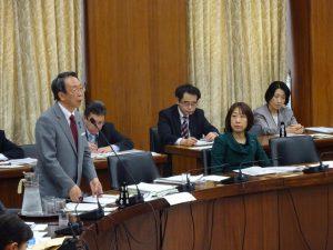 国土交通委員会に出席しました。
