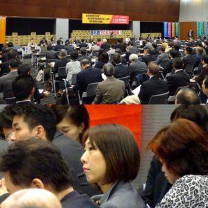 給付型奨学金制度の導入実現に向けた院内集会に出席。