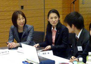 NPO法人僕らの一歩が日本を変える。主催「高校生100人×国会議員」。私は2020年オリンピックパラリンピックコースに参加し、高校生と意見交換しました。