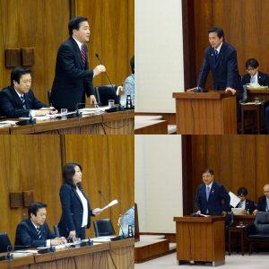 民進党からは、長島昭久議員、太田和美議員が質問に立ち、馳大臣、遠藤大臣に質疑しました。