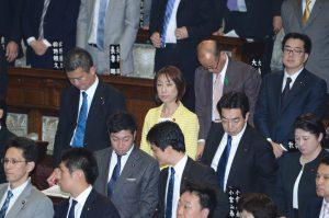 衆議院選挙制度改革法案が審議入りしました。