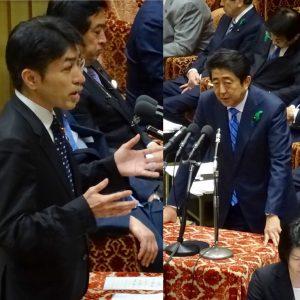 国会では、TPP特別委員会が開かれ、黒岩宇洋議員が質問に立ちました。