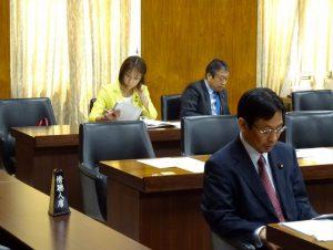 東日本震災復興特別委員会。