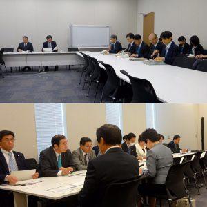 朝は文部科学部門会議が開かれました。