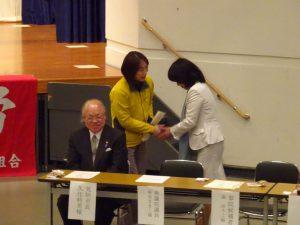 参院選立候補予定者の森ゆうこ氏も来場されました。