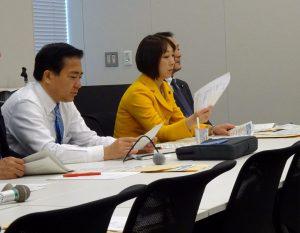 民進党文部科学部門会議が開かれました。