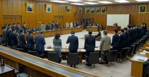 JSC法およびtoto法改正案は賛成多数で可決となりました。