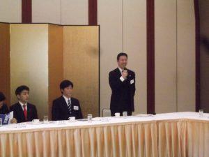 米山隆一さんは5区の新しい総支部長に就任。力を合わせて参ります。