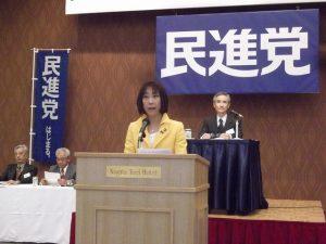 至らぬ県連代表でしたが、精一杯頑張りました。皆様のお支えに感謝しています。