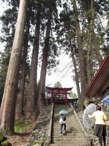 栃堀巣守神社の春季大祭