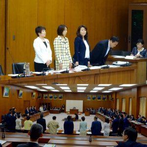 文部科学委員会が開かれ、国立大学法人法の一部改正案を賛成多数で可決しました。