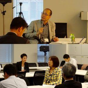 第2回目の慶応大学教授井出英策氏による講演。「社会不安を解き明かす。アベノミクス批判のその先へ」