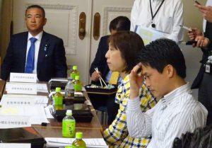 お昼は定例の国対役員・理事合同会議。