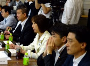 お昼は、定例の国対役員・理事合同会議。