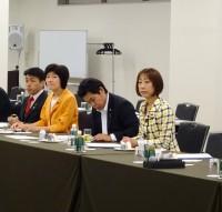 朝は8時から新潟県の要望に関する説明会。