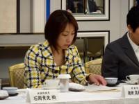 民進党と日弁連、弁政連との朝食懇談会。
