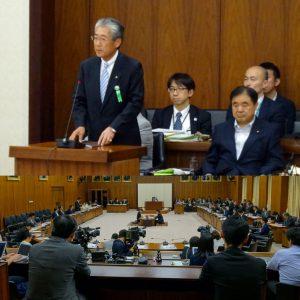 JOC竹田会長も答弁者として出席。報道陣も大勢駆けつけていました。