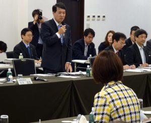 泉田知事から新潟県の要望説明。