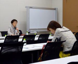 若者政策提案書について宮本みち子放送大学副学長よりヒアリング。