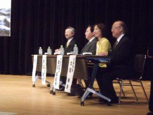 白しんくん参議院議員の応援に来られた野田前総理と共に「より良い社会を築く躍進大会」に参加しました。