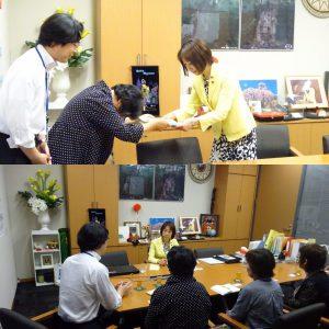熊本から上京された水俣病患者会の皆様との意見交換。