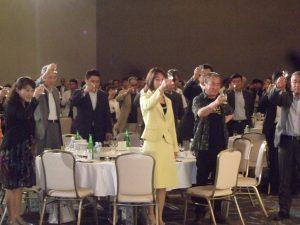 越後泉山会主催 初呑み切りに出席しました