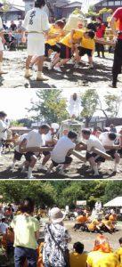 とちお祭り「樽みこし綱引き選手権大会」