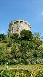 今回、一番のラブリーはロンドン郊外のウインザー城!