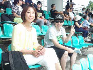 三条パール金属スタジアムで行われた、大学野球サマーリーグを観戦しました。