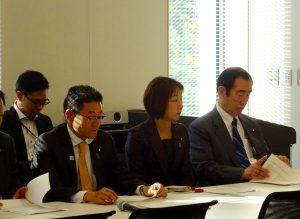 文部科学部門役員会、部門会議が開催されました。