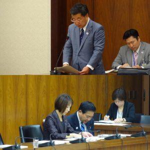 文部科学委員会では、教員公務員特例法の一部改正案について趣旨説明が行われました。