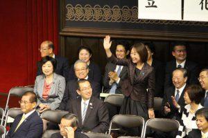 東大安田講堂にて退職公務員連盟全国大会が開催されました。
