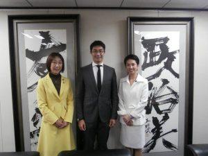 世界経済フォーラムのレスラー専務理事による蓮舫代表への表敬訪問に同席しました。