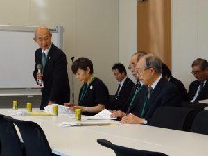 日本私立大学団体連合会などから来年度税制改正要望等について承りました。